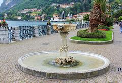 Springbrunnen in Menaggio