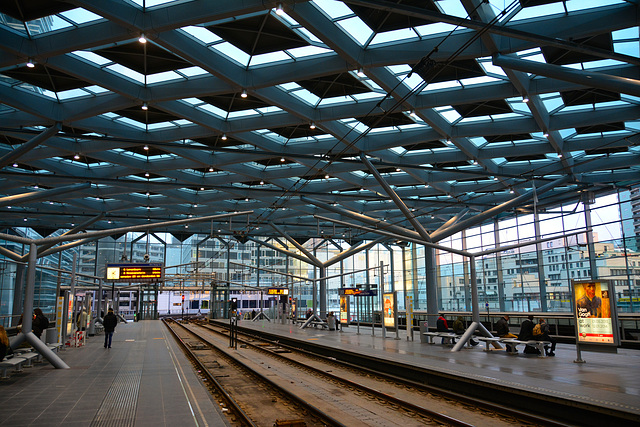 The Hague Central tram station
