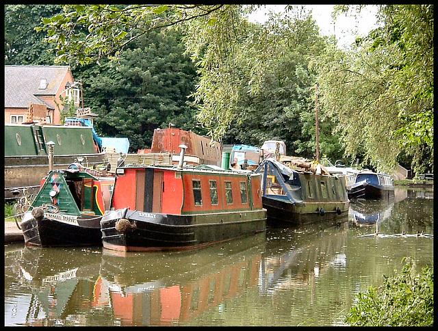 Castle Mill Boatyard 2004