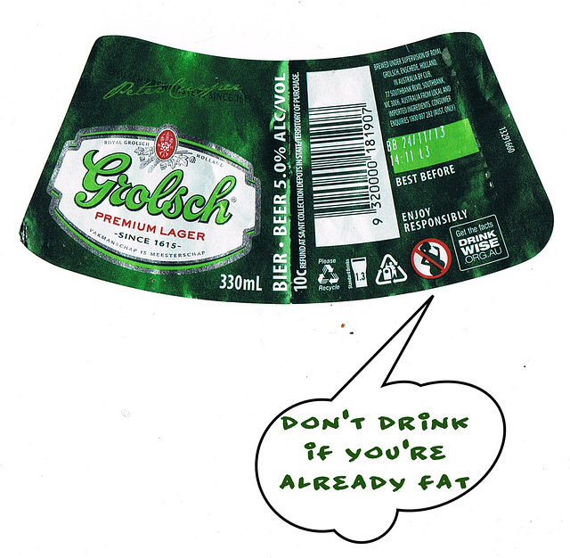 sensible beer warning
