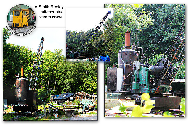 Steam crane - Amberley - 29.8.2013