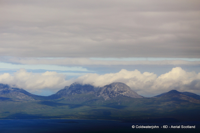 Aerial - Scotland - The Paps of Jura