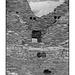 Pueblo del Arroyo walls in black and white