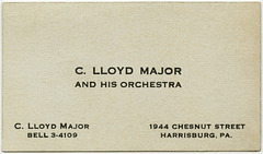C. Lloyd Major and His Orchestra, Harrisburg, Pa.