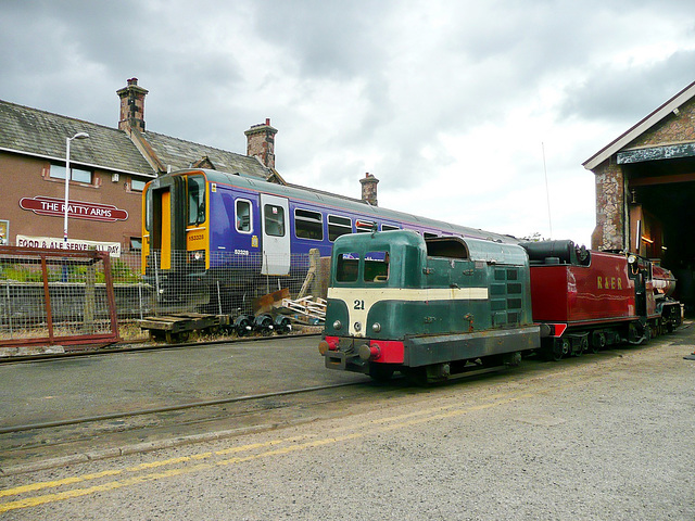Ravenglass traction