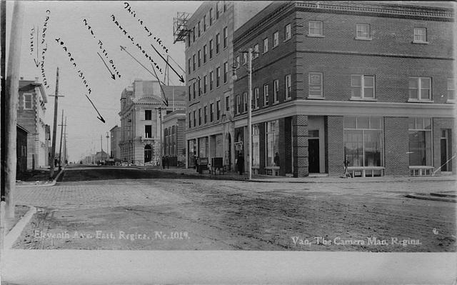 Eleventh Ave. East, Regina. No. 1019.