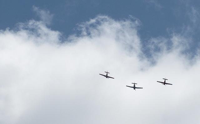 We three planes are ..