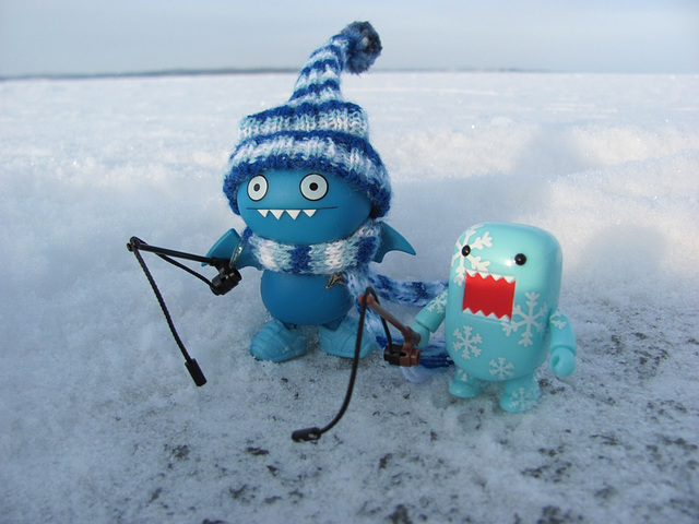 Ice fishing (28/365/2 Toy Project)