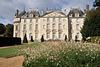 Façade XVIIIe s. du Château du Lude - Sarthe