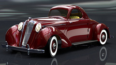1936 Hupmobile Coupe