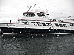Island bound - Radisson Ferry ..
