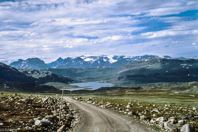 Norway 1970 - Dirtroads III - Slettesfjellvägen - Jutunheimen - 27.6.70 (345°)