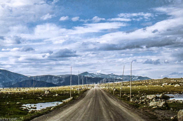 Norway 1970 - Dirtroads I -  Valdresflya - 27.6.70 (000°)
