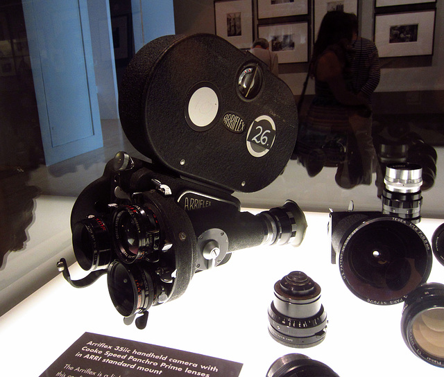 Kubrick at LACMA - Arriflex 35iic with Cooke Speed Panchro Prime lenses (1542)