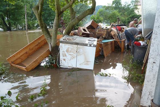 Elbhochwasser 8. Juni 2013