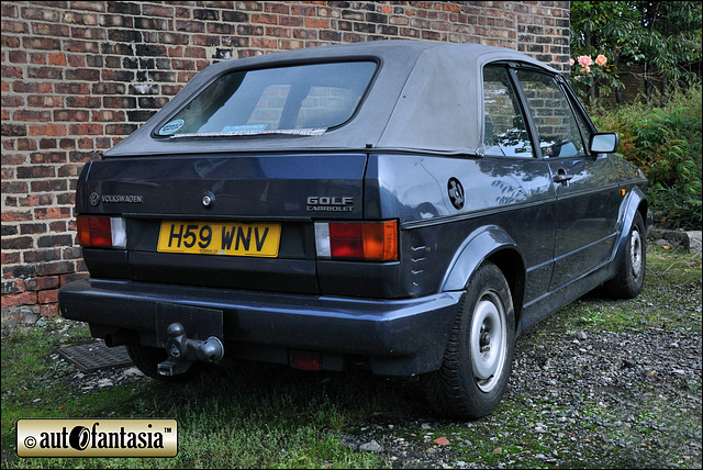 1990 VW Golf Clipper Cabriolet Mk1 - H59 WNV