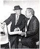 """My dad with """"The Great Schnozzola"""", entertainer, Jimmy Durante, about 1969, Chicago"""