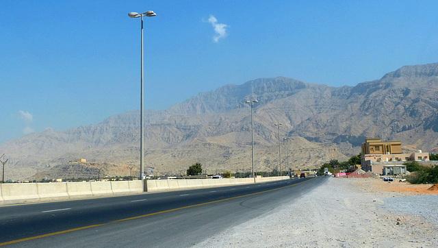 Fahrt Richtung Oman-Grenze