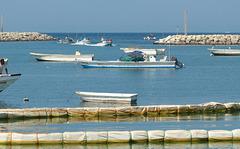 Fischerhafen in Ghalilah
