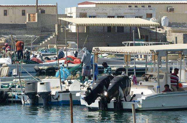 Fischerhafen in Sha'am