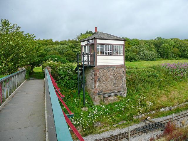 Ravenglass signalbox