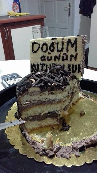 Mandi's birthday cake