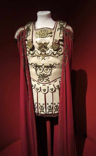 Kubrick at LACMA - Spartacus - Armor and tunic of Marcus Licinius Crassus (1564)