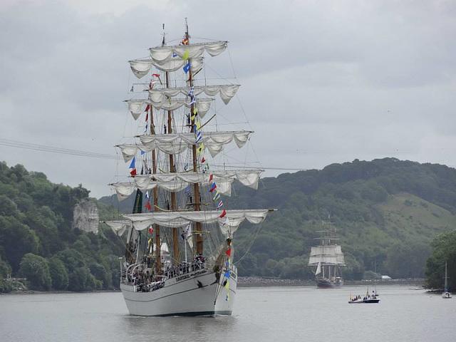 la Grande Parade de la Seine — Armada de Rouen 2013