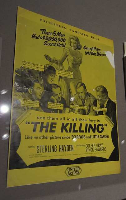 Kubrick at LACMA - The Killing (1565)