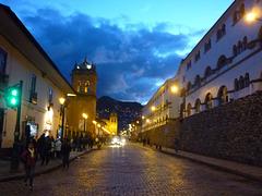 Cusco le soir