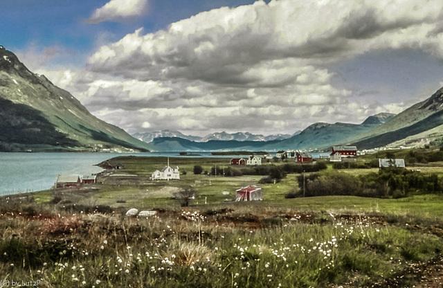 Norway 1970 - Rotsundet - Lyngen - 17.6.70