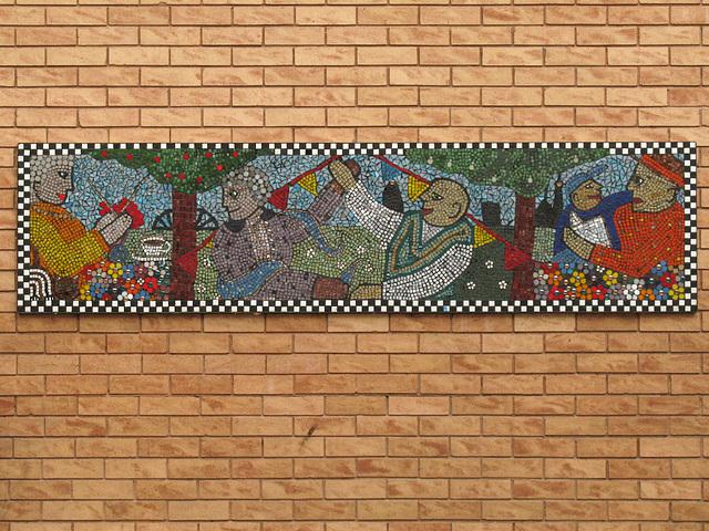 Aspern Grove Mosaic 1
