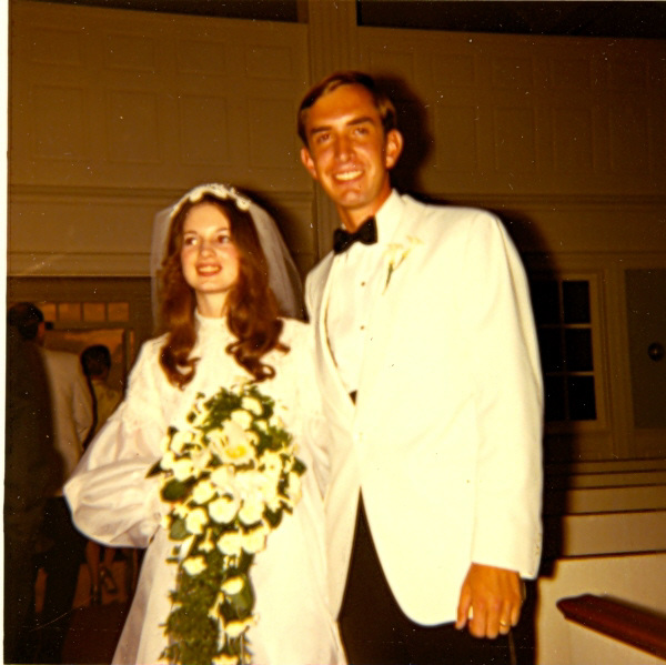 Our Wedding - 1970