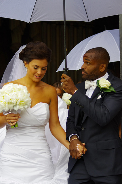 Darren Bent and Kirsty Mclaren
