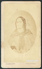 French CDV copy of a daguerreotype