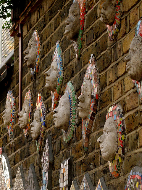 Mosaic Faces 1