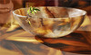 Alabastro con rama de jazmín