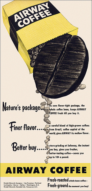 Airway Coffee Ad, 1953