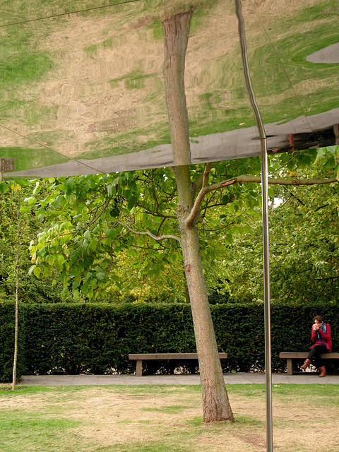 Serpentine Pavilion 4 (Two-trunk tree)