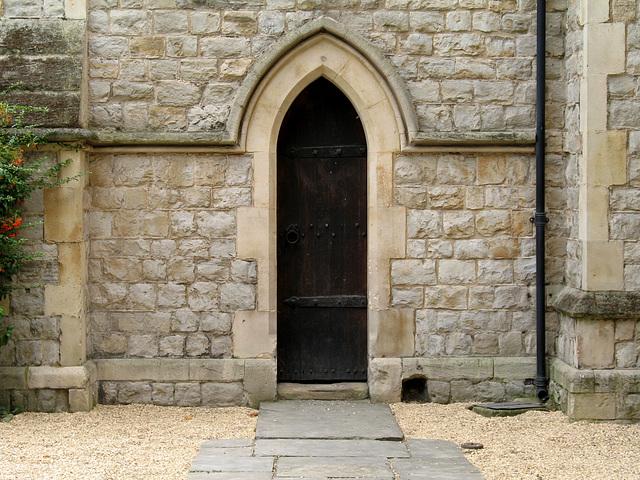 Narrow Door & Bootscraper