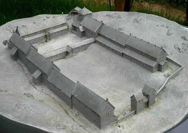 Model of the Villa