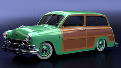 "1951 Ford Country Squire ""Woody"""