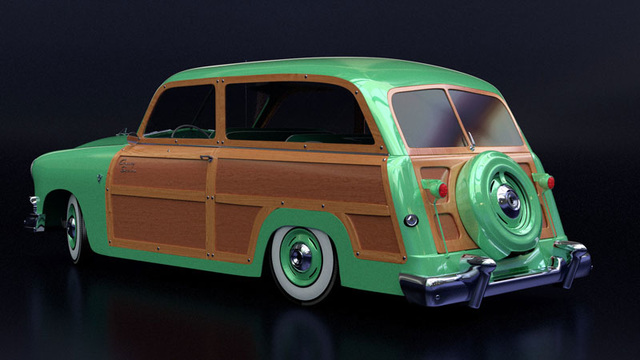 """1951 Ford Country Squire """"Woody"""""""