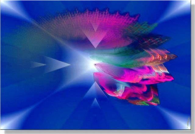 Sur la piste de danse éclairée par des torches c'est le bal des couleurs