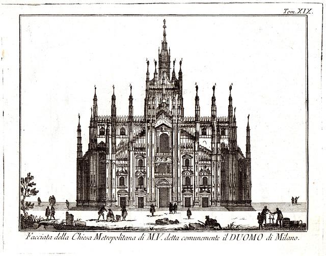 Duomo di Milano, 1751