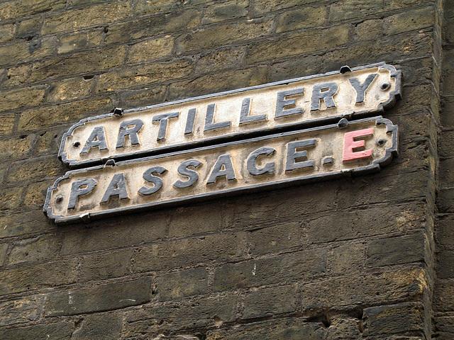 Artillery Passage