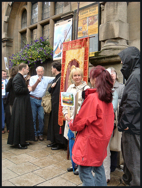 St Barnabas joins the protest