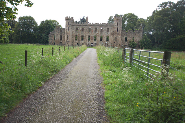 Fetternear House, Chapel of Garioch, Aberdeenshire (now a ruin)
