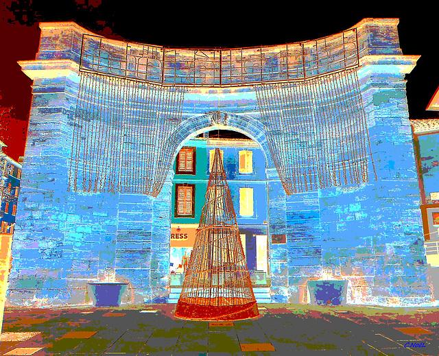 La porte d'Arles, à Istres, Variation !