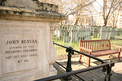 Bunhill Fields - John Bunyan